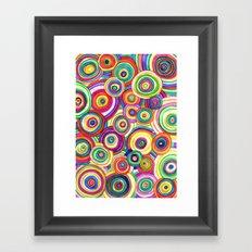 uneven universe Framed Art Print