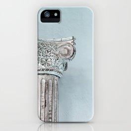 Corinthian capital iPhone Case