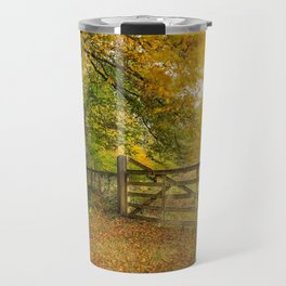 Glengarriff Woods in autumn Travel Mug