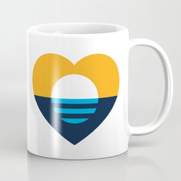 Heart of MKE - People's Flag of Milwaukee Coffee Mug