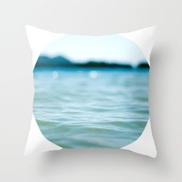 Nautical Porthole Study No.4 Throw Pillow
