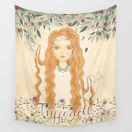 Queen Jodha Wall Tapestry