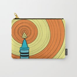 Melting Crayons Carry-All Pouch