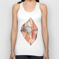 crystal Tank Tops featuring Crystal  by Matt Smith