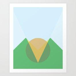 Cacho Shapes XCII Art Print