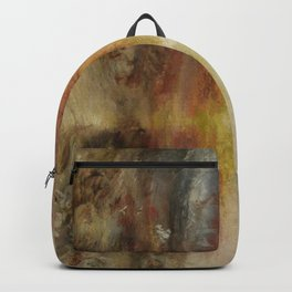 Joseph Mallord William Turner's The Slave Ship Backpack