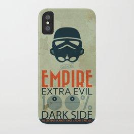 Star Wars Empire Propaganda iPhone Case