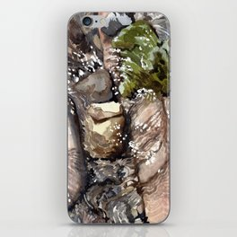 with the boots you gave me iPhone Skin