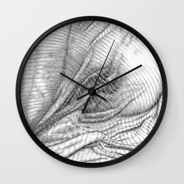 ASC 634 - Le drapé (Paranormal activity) Wall Clock