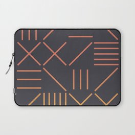 Geometric Shapes 09 Gradient Laptop Sleeve
