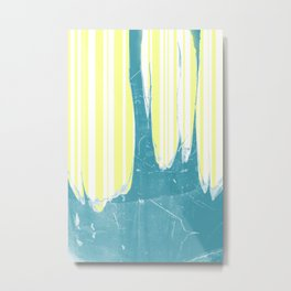 water&yellow stripe Metal Print