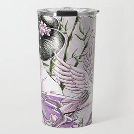 Japanese Crane Travel Mug