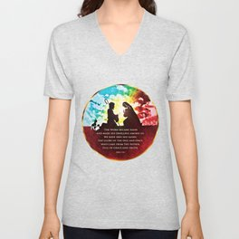 We Have Seen His Glory! Unisex V-Neck
