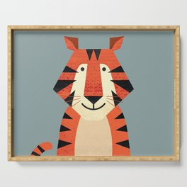 Whimsy Tiger Serving Tray