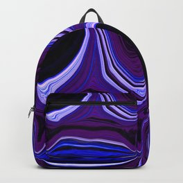 darkness in your eyes digital abstract painting Backpack