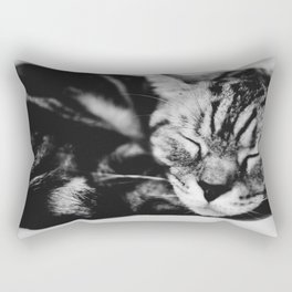 Softly Asleep Rectangular Pillow