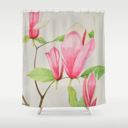 Magnificent Magnolia Shower Curtain