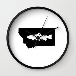 Hyalife Trout Montana  Wall Clock