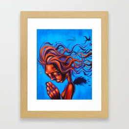Homily Framed Art Print