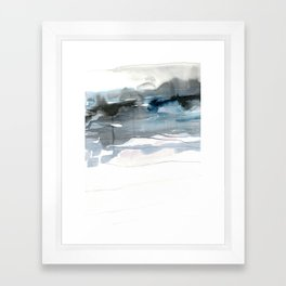 dissolving blues 2 Framed Art Print