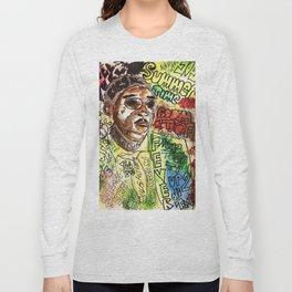 free wurl boss,world boss,dancehall,reggae,jamaica,soca,poster,fan art,art,cool,dope, Long Sleeve T-shirt