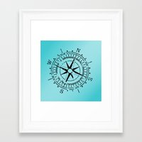 nautical Framed Art Prints featuring Nautical  by gypsykissphotography