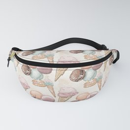 Sweets Ice Cream Pattern Fanny Pack