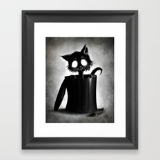 Trash Framed Art Print