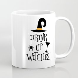 Drink Up Witches Halloween Decor Coffee Mug