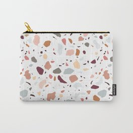 Terrazzo marble pattern Carry-All Pouch