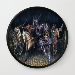The Four Horsemen of the Apocalypse 2016 Wall Clock