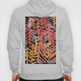Abstract Pines Pattern Hoody