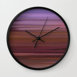 Abs painting Wall Clock