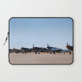WW2 Warbirds Line-up, Sonoma County Airport, California Laptop Sleeve