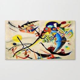 The Bird by Wassily Kandinsky Canvas Print