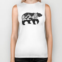 THE BEAR AND THE FOXES Biker Tank