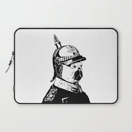The Emperor Pug Laptop Sleeve