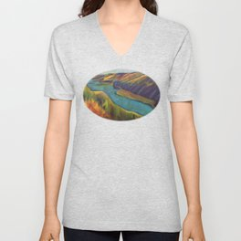 Bird's Eye View Unisex V-Neck