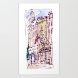 Mark Spencer Hotel Art Print