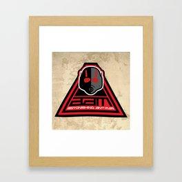 Astonishing Ant-Man Framed Art Print