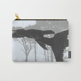 Crow Goes Hunting Carry-All Pouch