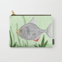 Fish - Silver Dollar Carry-All Pouch