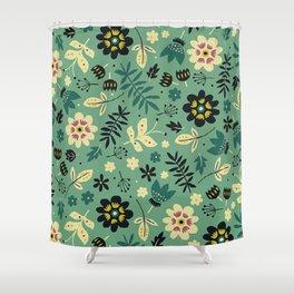 As flores do seu jardim Shower Curtain