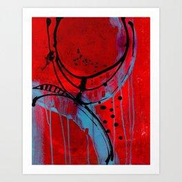 Mixed Emotons Art Print
