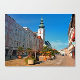 Summer in the city | architectural photography Canvas Print