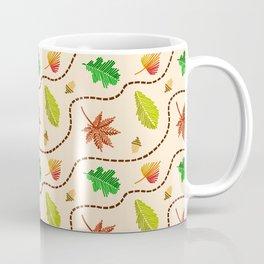 Autumn Leaf Wave Coffee Mug