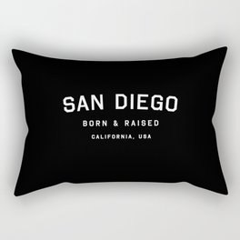 San Diego - CA, USA (Arc) Rectangular Pillow
