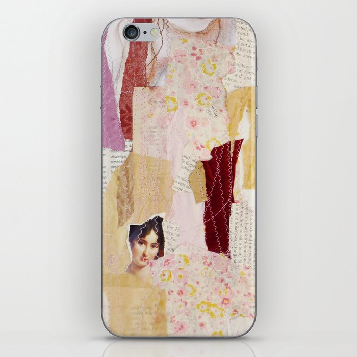 girl without wolf iPhone Skin