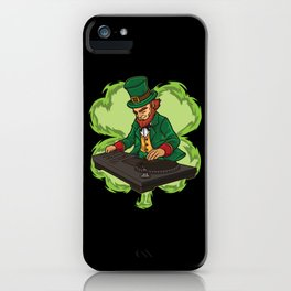 DJ Leprechaun Live On Stage - Irish Electro Music iPhone Case