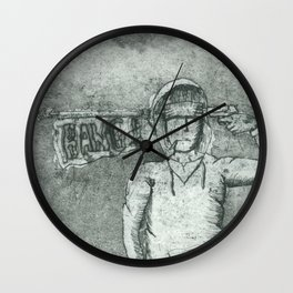 Death from Laughter Wall Clock
